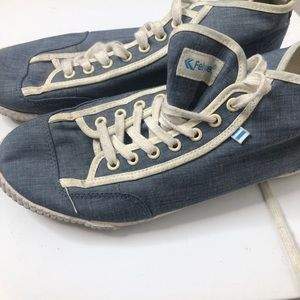 Feiyue Blue Tennis Boxer Shoes